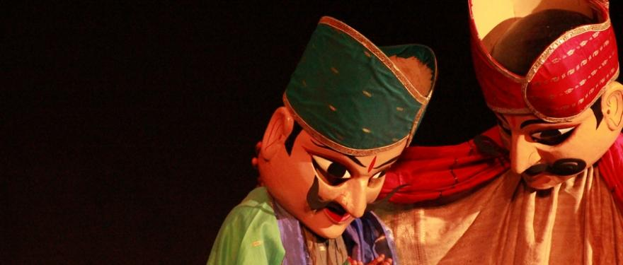 The Amar Singh Rathore show, a timeless piece in traditional puppetry has enthralled many an audience.
